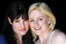 Idina Menzel and Helen Dallimore