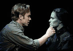 Norbert Leo Butz in Wicked with Idina Menzel
