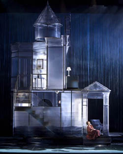 Seance on a Wet Afternoon Stephen Schwartz opera set