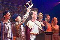 "Pippin cast singing ""Morning Glow"" by Stephen Schwartz"