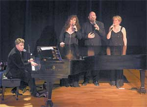 Stephen Schwartz and Friends Concert, photo by Maryann Lopinto