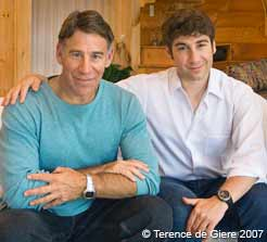Stephen Schwartz and Scott Scott Schwartz 2007 - photo by Terence de Giere