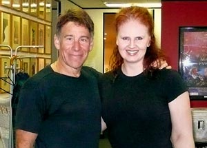 Stephen Schwartz and Kellie Dickerson