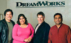 Stephen Schwartz and Monkeys of Bollywood team