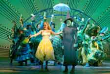 "Photograph: Stage picture of the song ""One Day in the Emerald City""."