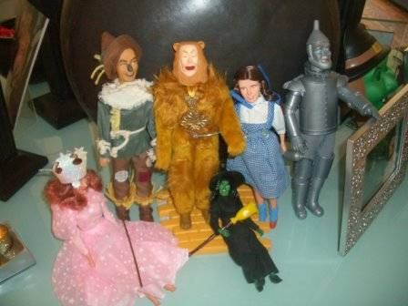 Wizard of Oz dolls for Wicked party