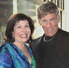 Winnie Holzman and Stephen Schwartz 2010